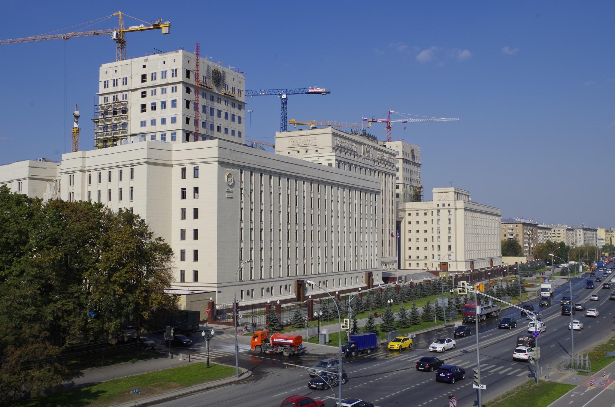 Национальный центр управления обороной Российской Федерации (Фрунзенская набережная, дом 22)
