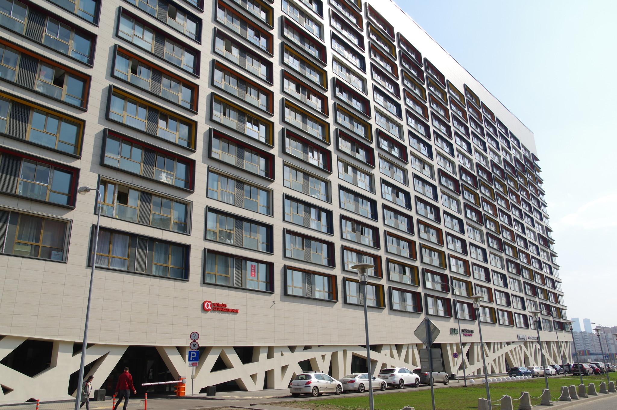Жилой комплекс «Лайнер» корпус «Восток» (Дом на Ходынке) в Хорошевском районе