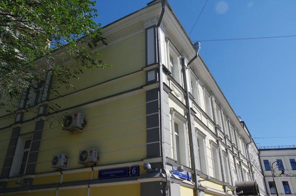 Улица Спиридоновка, дом 6