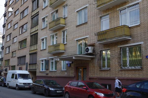 Переулок Сивцев Вражек, дом 31. В этом доме жил Маршал Советского Союза Павел Фёдорович Батицкий