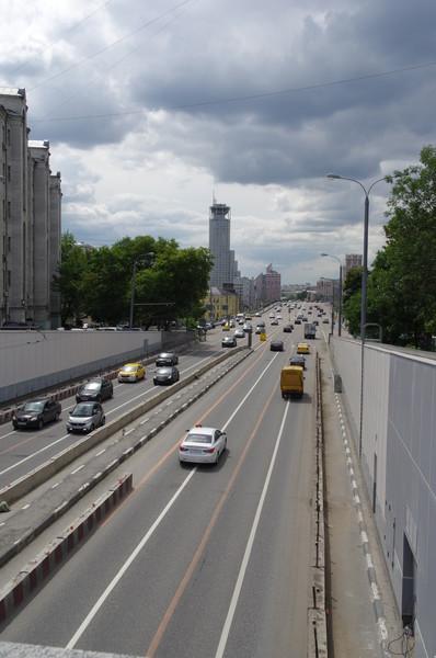 Левобережный подход к Большому Краснохолмскому мосту
