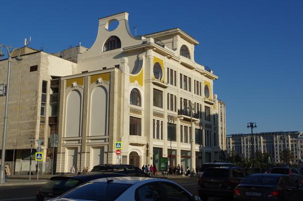 Здание издательства газеты «Русское слово» И.Д. Сытина (Тверская улица, дом 18б)