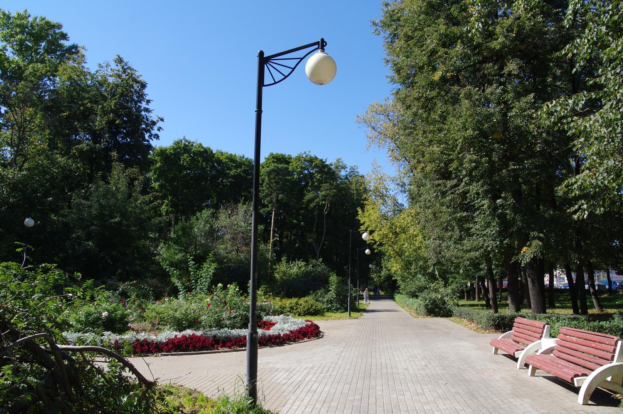 Парк Авиаторов (Чапаевский парк). Ленинградский проспект, 59