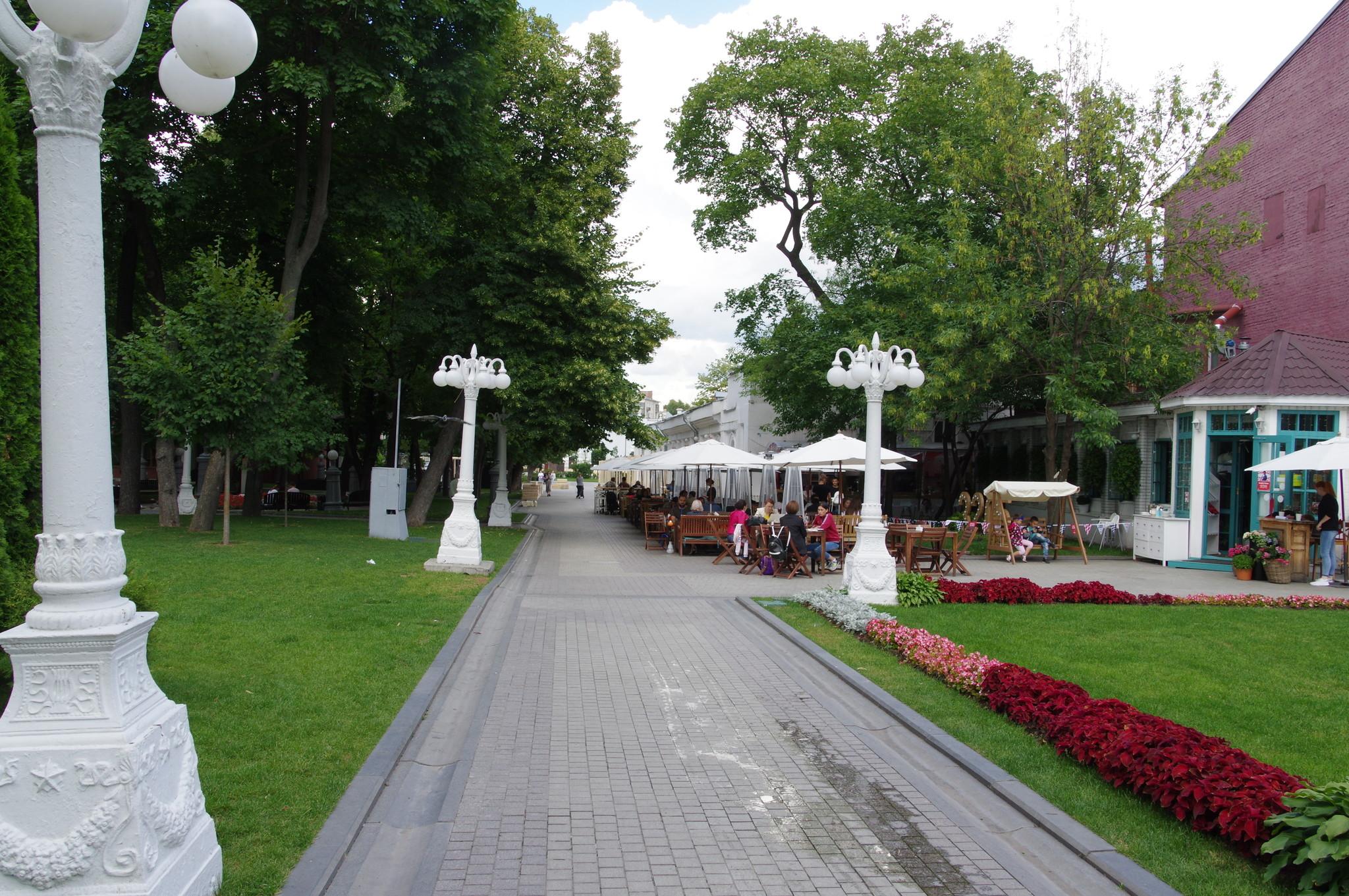 Сад «Эрмитаж» (улица Каретный Ряд, 3)