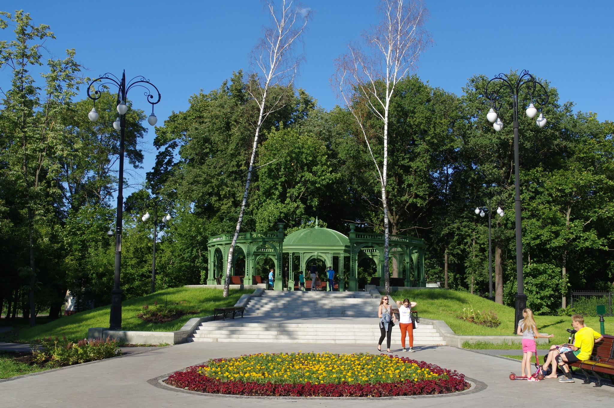 Зелёный бельведер в парке «Останкино»