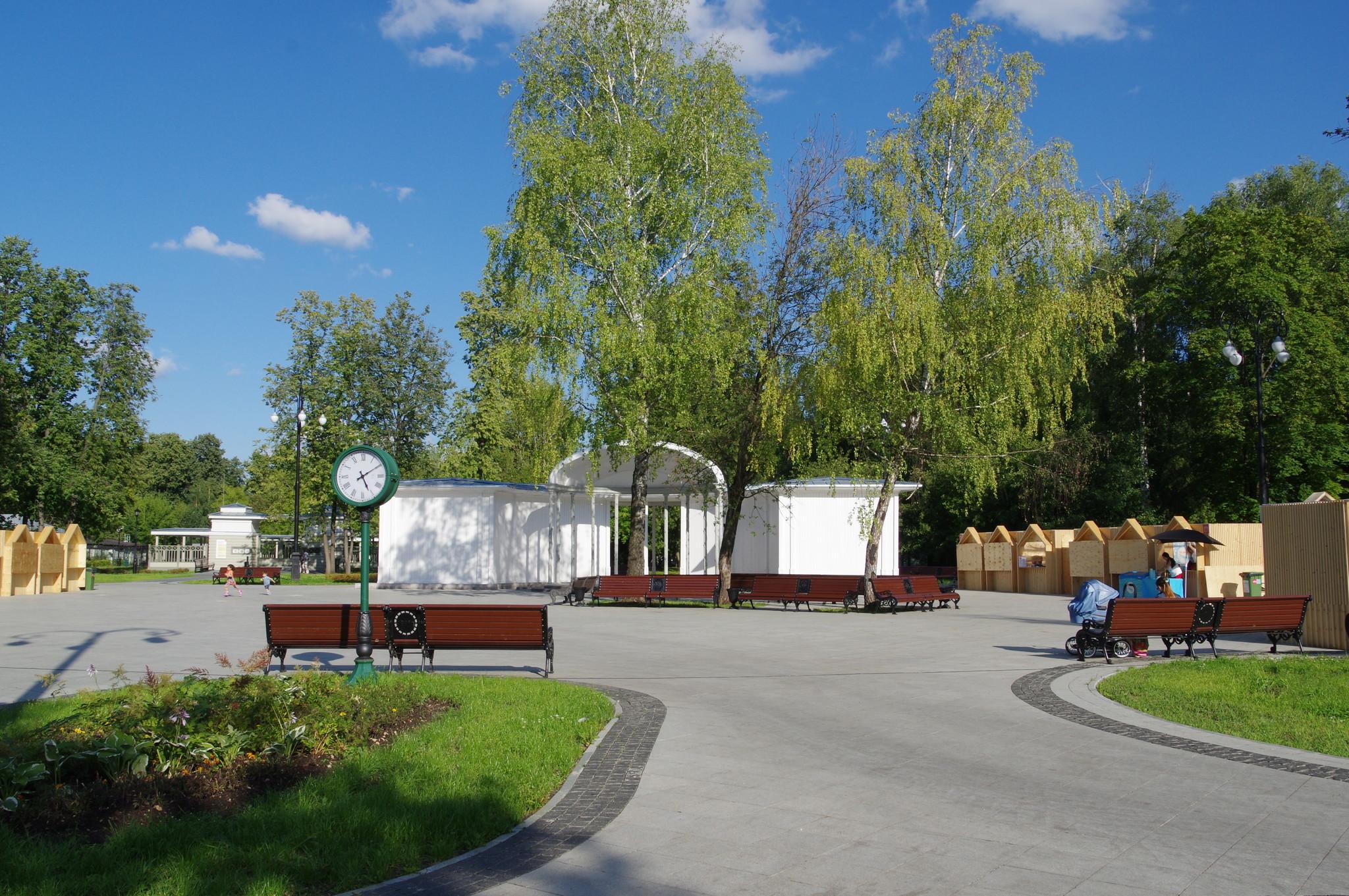Летняя эстрада в парке «Останкино» (1-я Останкинская улица, дом 7А, строение 21)