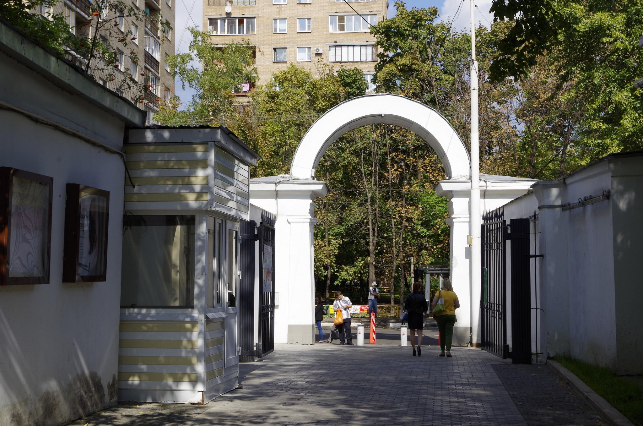 Сад имени Н.Э. Баумана