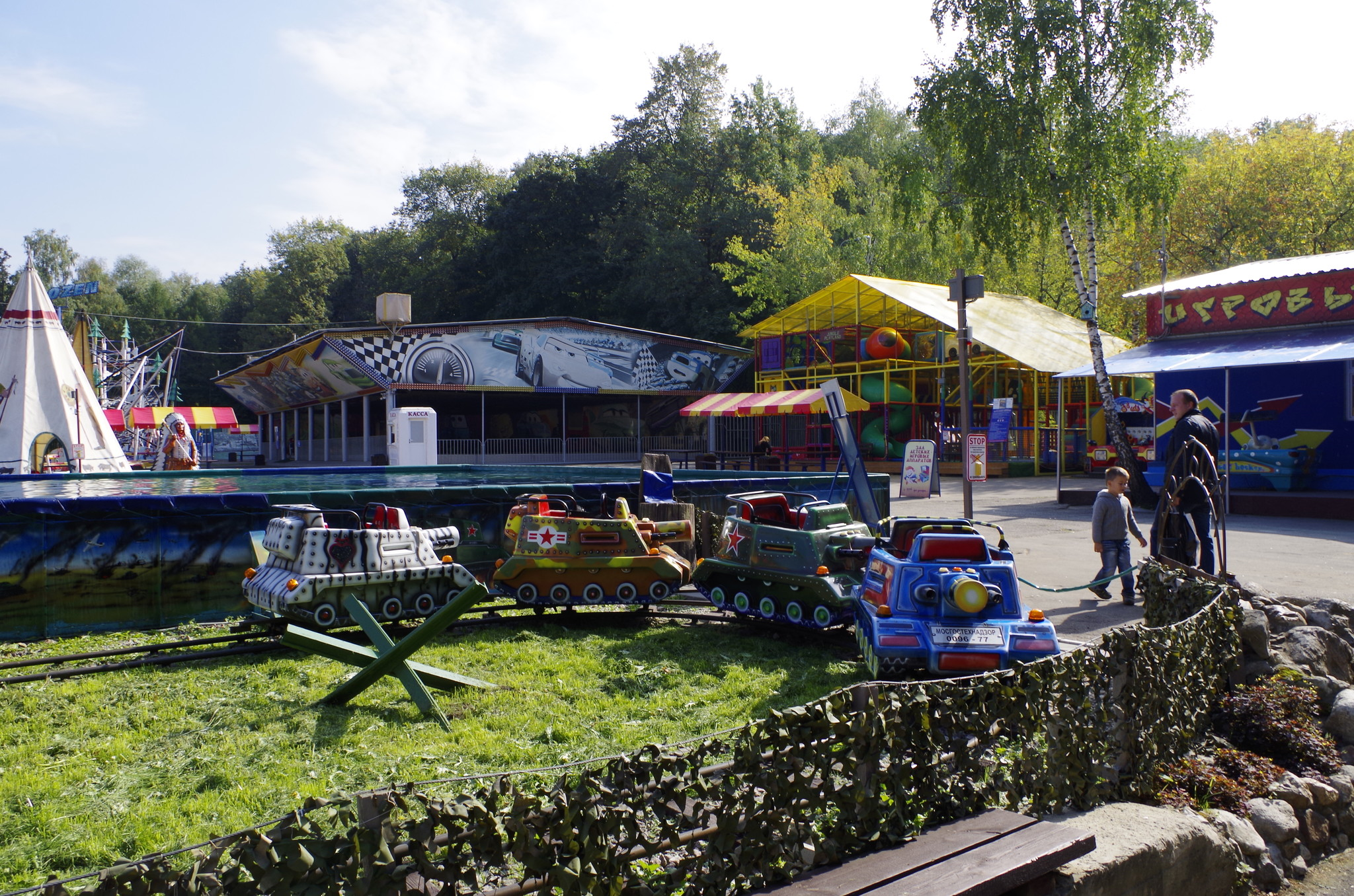 В Измайловском парке культуры и отдыха