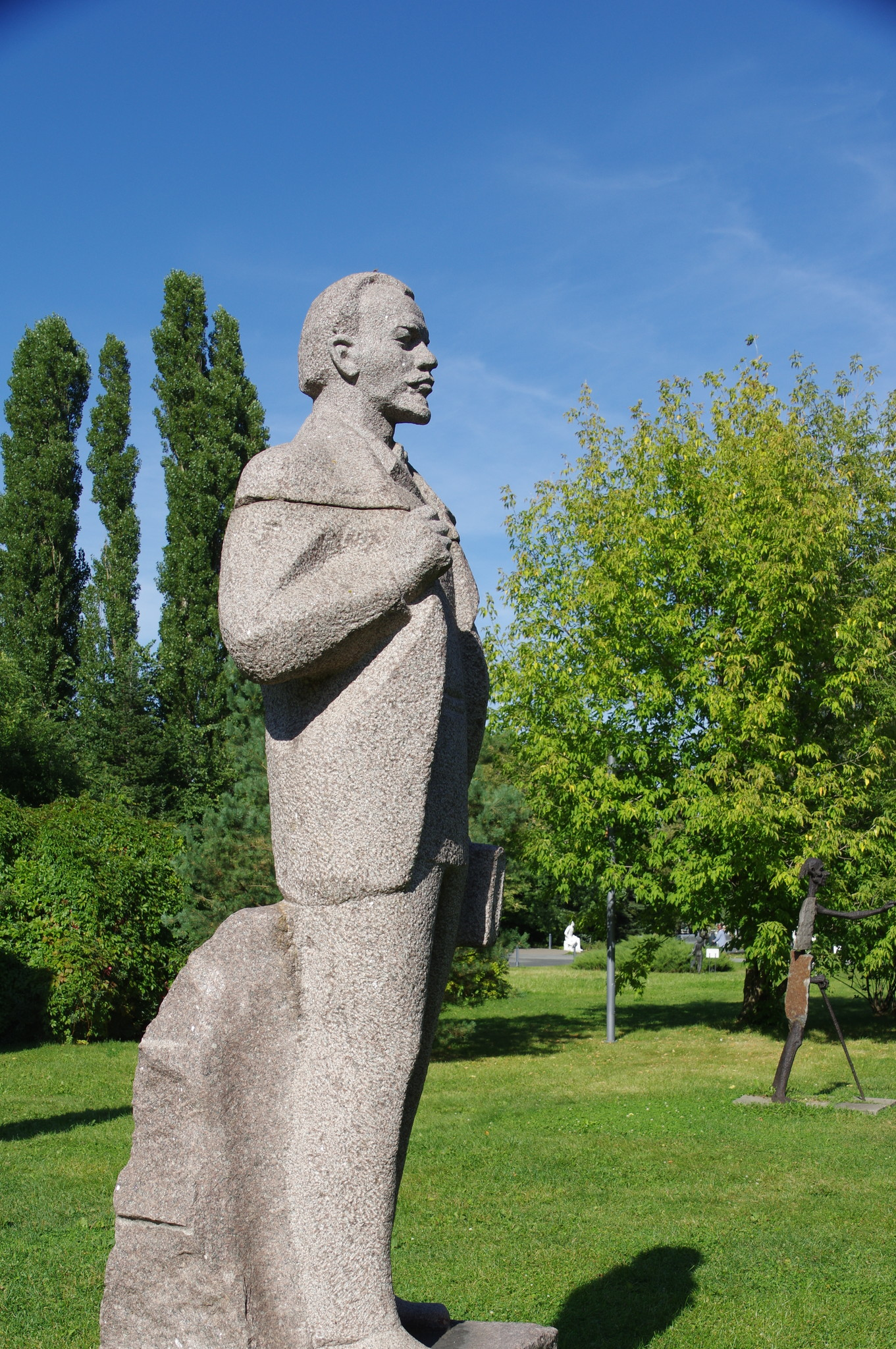 Молодой Ленин. 1970-е. Гранит. Торопыгин А.И. Парк искусств «Музеон»