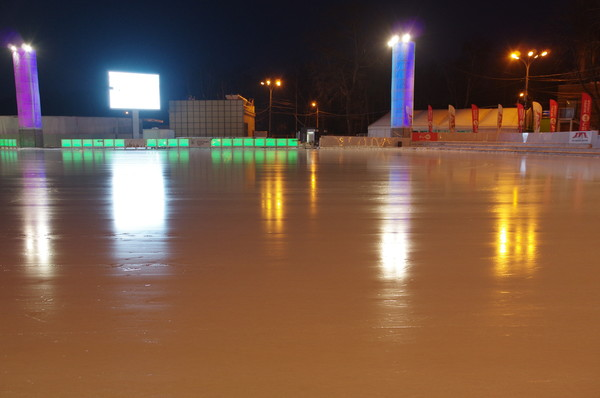Каток «Лёд» в парке «Сокольники»