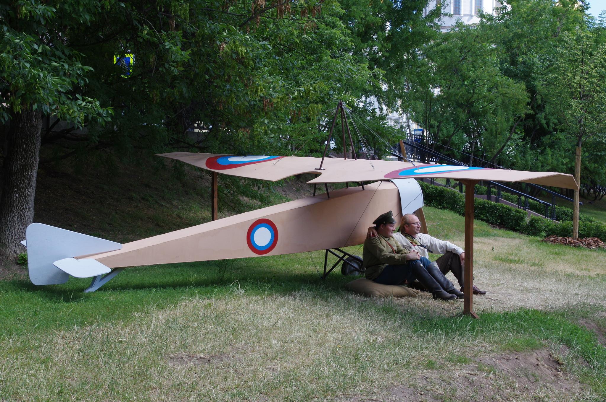 Макет самолёта Российского императорского военно-воздушного флота
