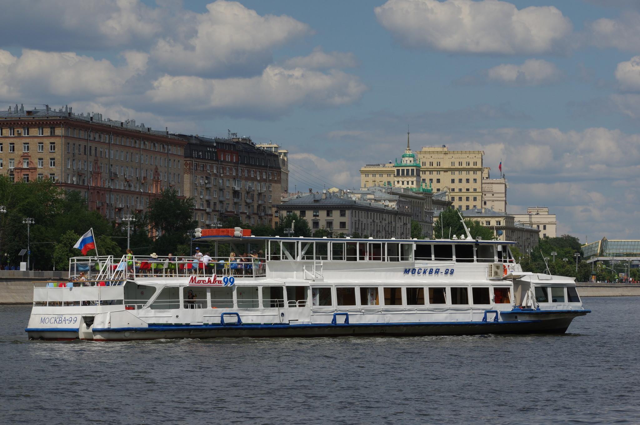 Теплоход «Москва-99»