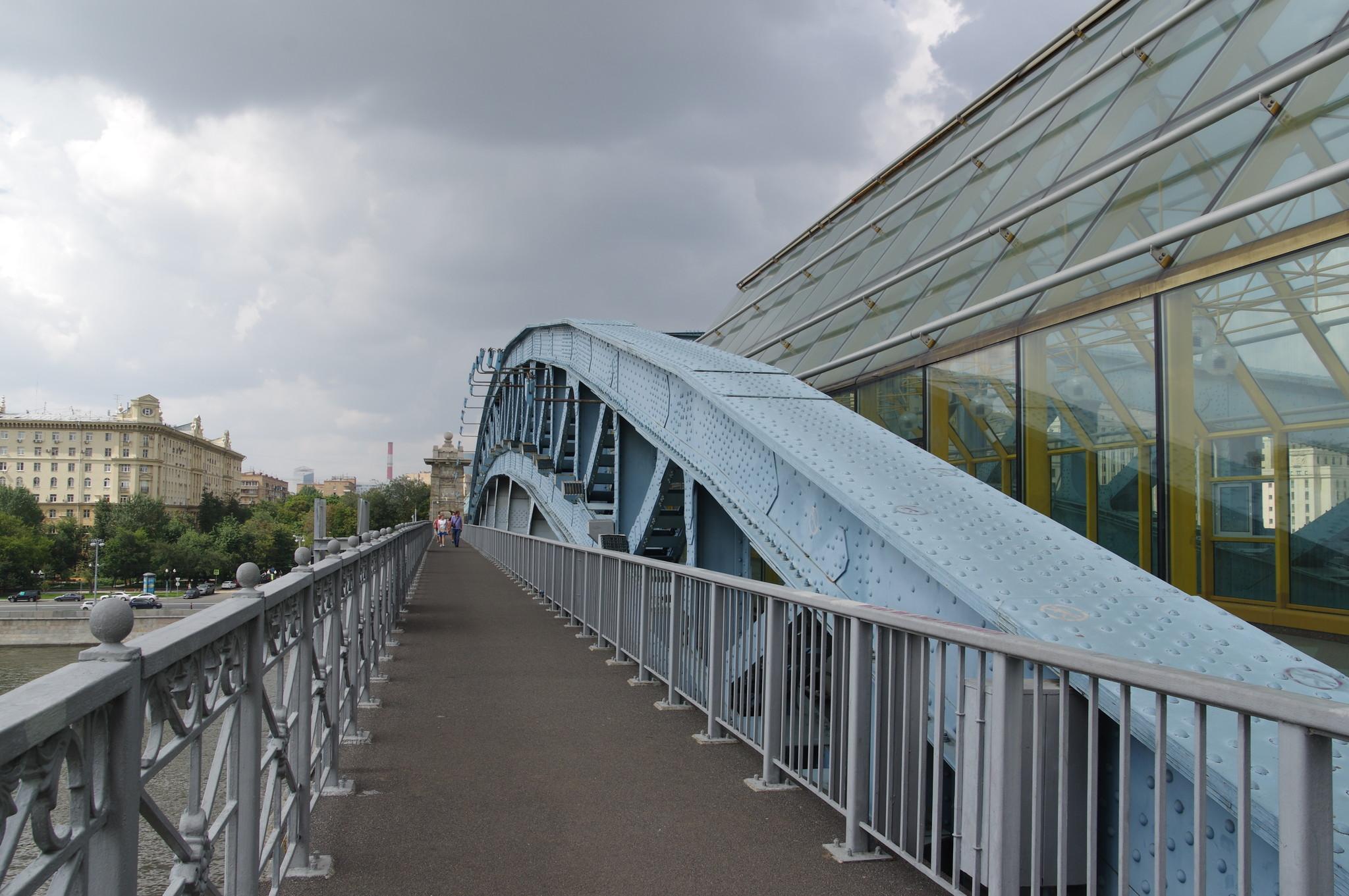 Пешеходный Андреевский мост