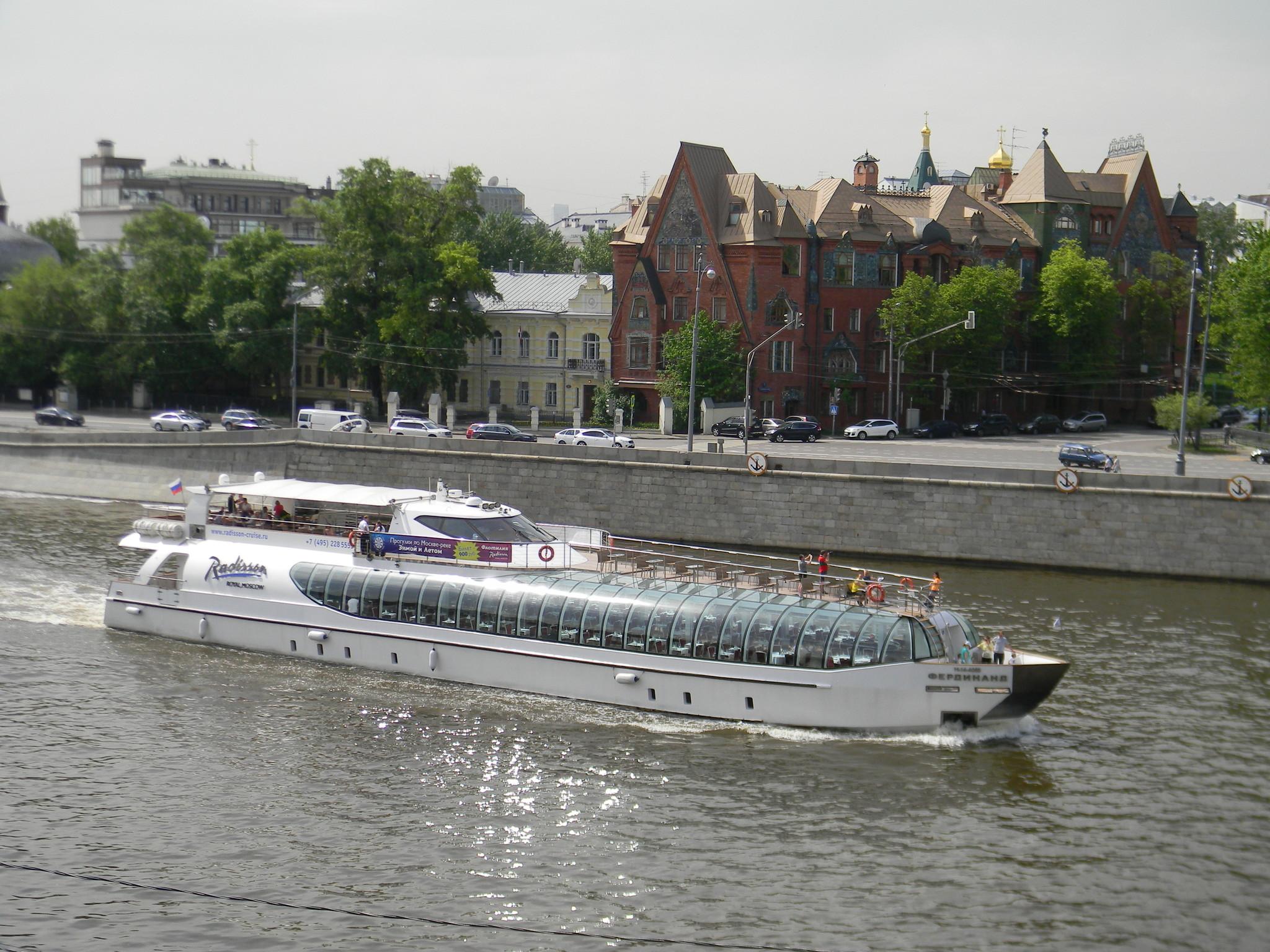 Пассажирский прогулочный теплоход «Фердинанд» компании Radisson Royal