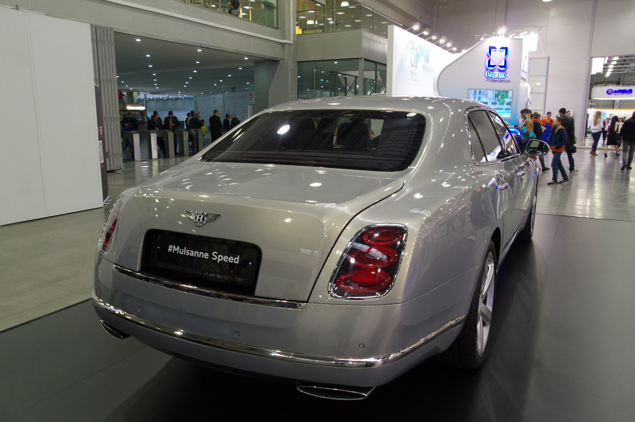 Автомобиль Bentley Mulsanne Speed