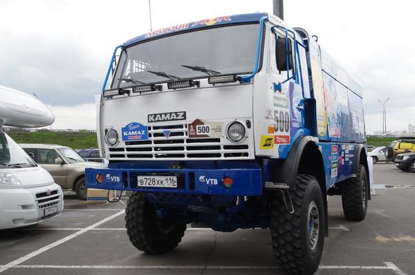 Спортивный грузовик команды «Камаз-мастер»