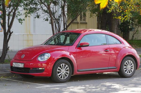 Автомобиль Volkswagen Beetle