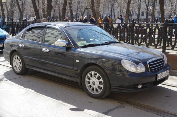Автомобиль Hyundai Sonata (Хендай Соната) gls v6