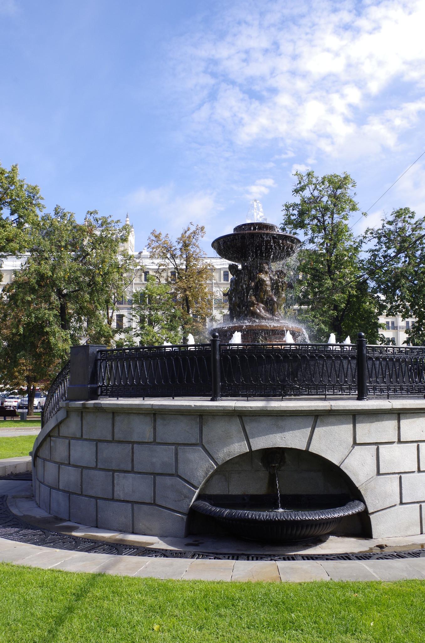 Петровский фонтан Витали