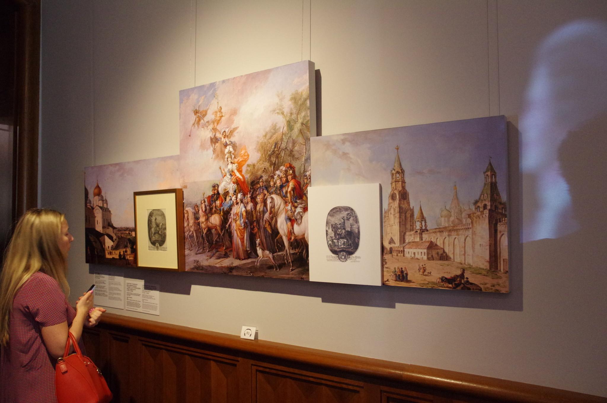 В Большом дворце музея-заповедника «Царицыно»