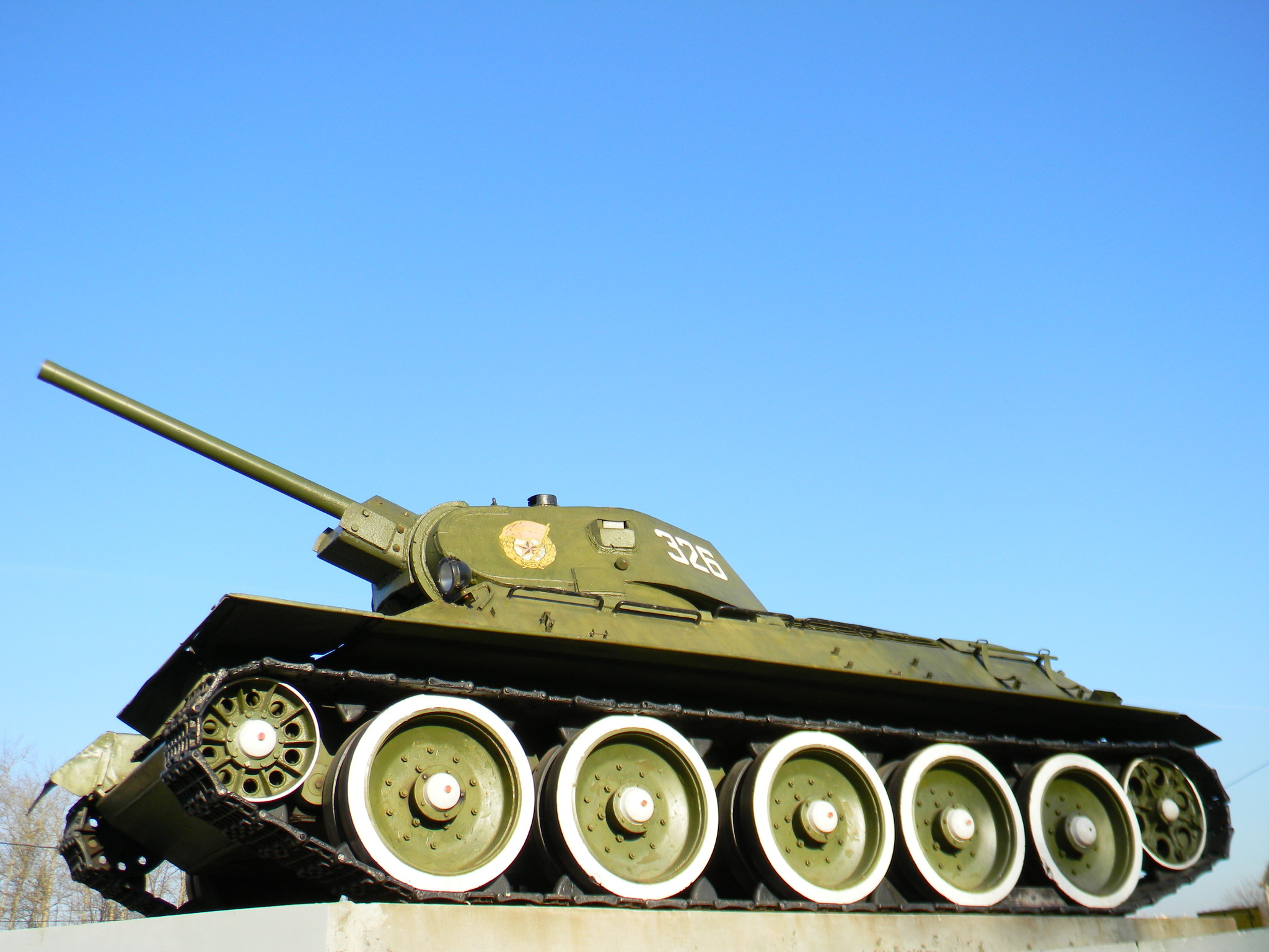 Танк Т-34-76 (Музей Победы)