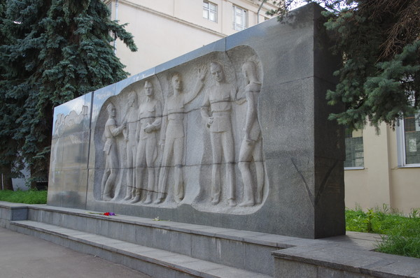 Памятник воспитанникам московских специальных артиллерийских школ