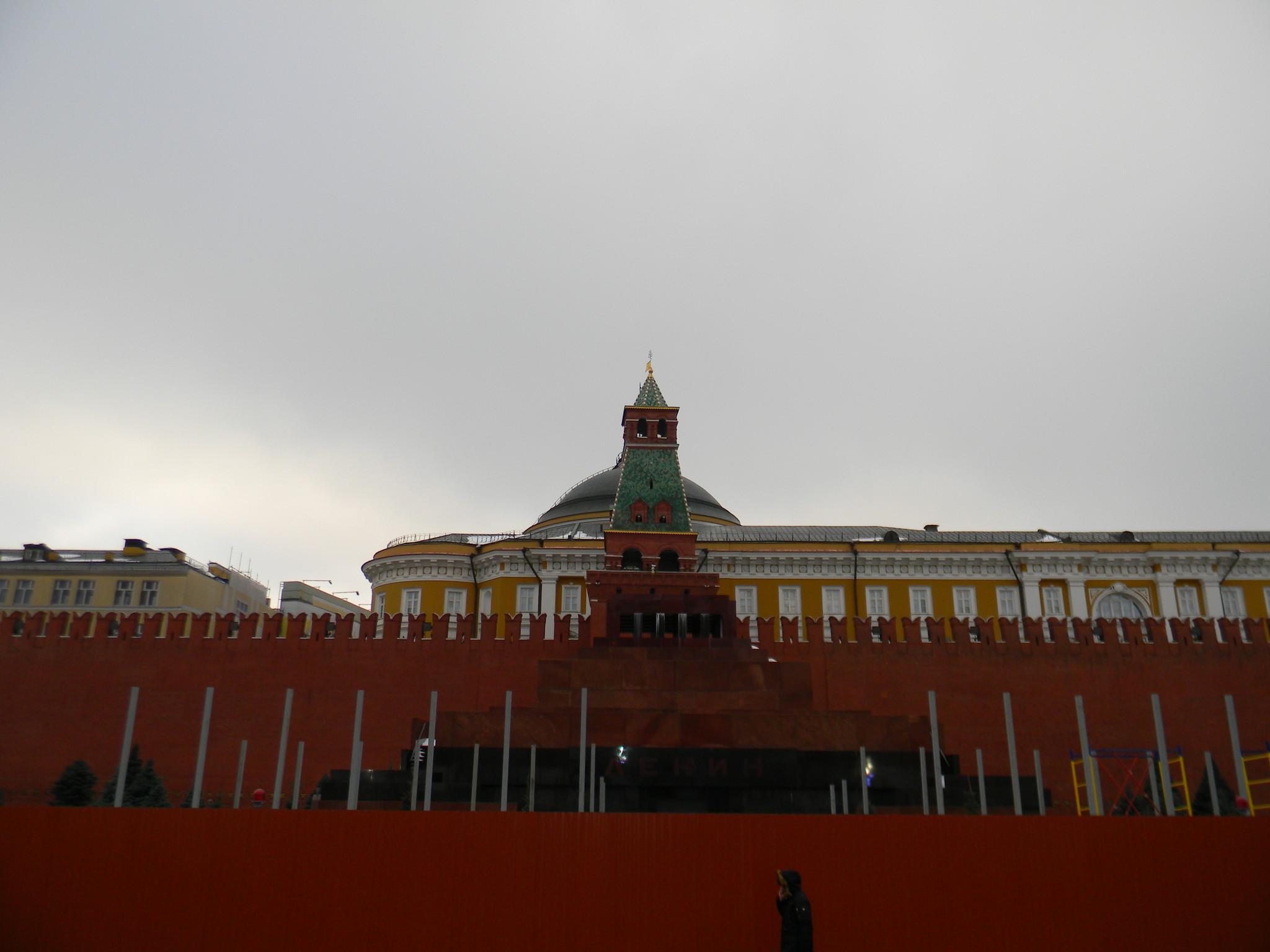 Мавзолей В.И. Ленина