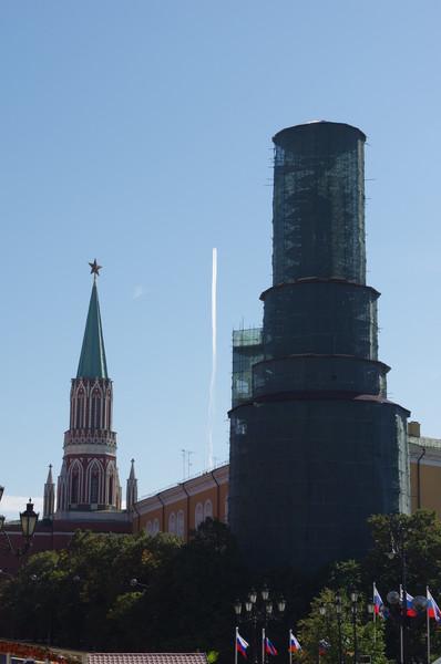 Реставрация стен и башен Московского Кремля