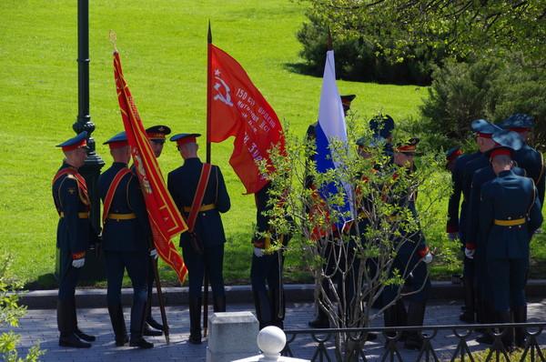Почётный караул 154-го отдельного комендантского Преображенского полка