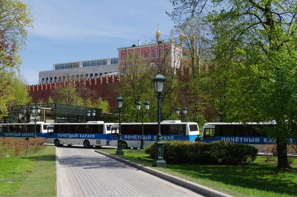 Автобусы Почётного караула
