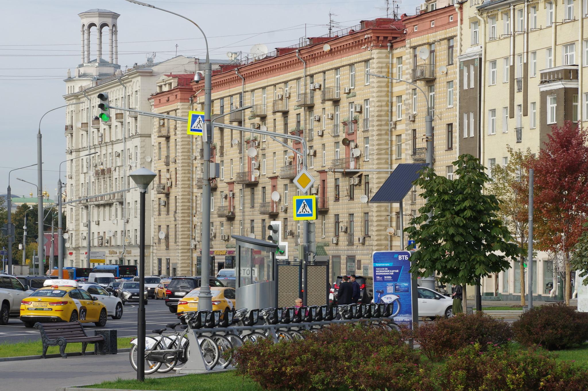 Станция велопроката (Якиманский проезд)