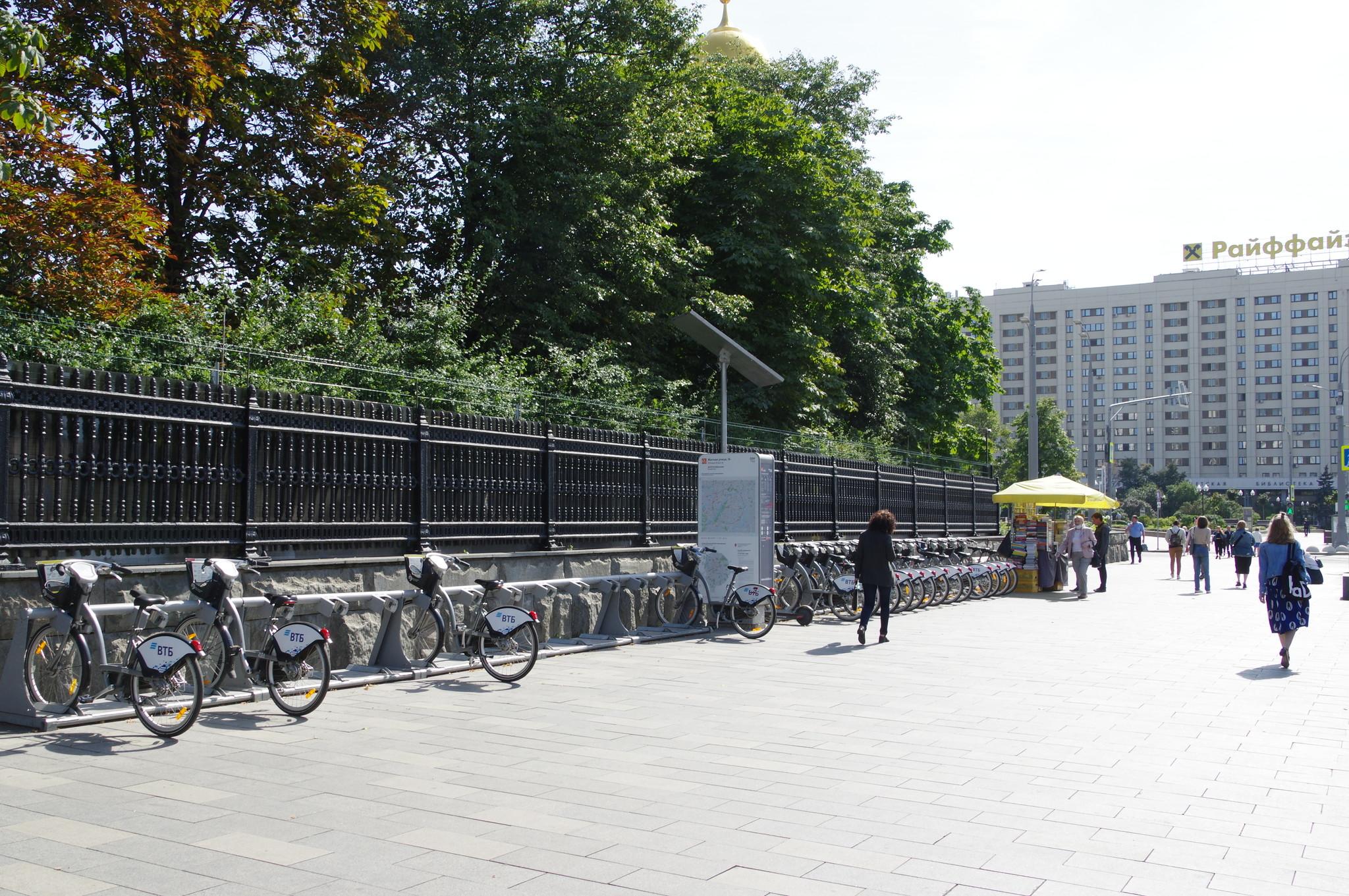 Станция велопроката № 059 (Житная улица, дом 16)
