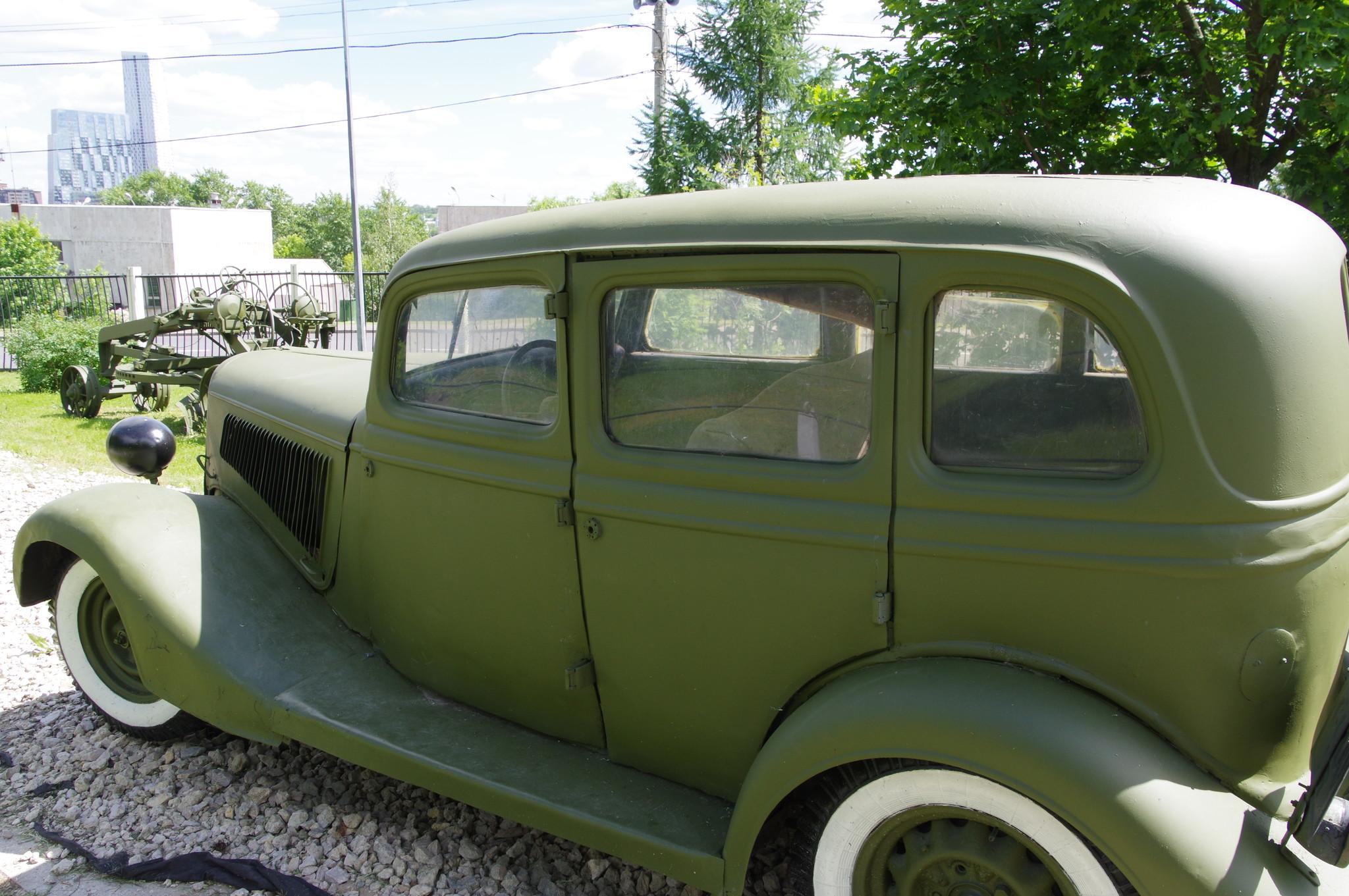 Фрагменты автомобиля ГАЗ-М-1 переданы в дар Центральному музею Великой Отечественной войны 1941-1945 гг. В.И. Батановым (г. Ярославль) в 1997 году