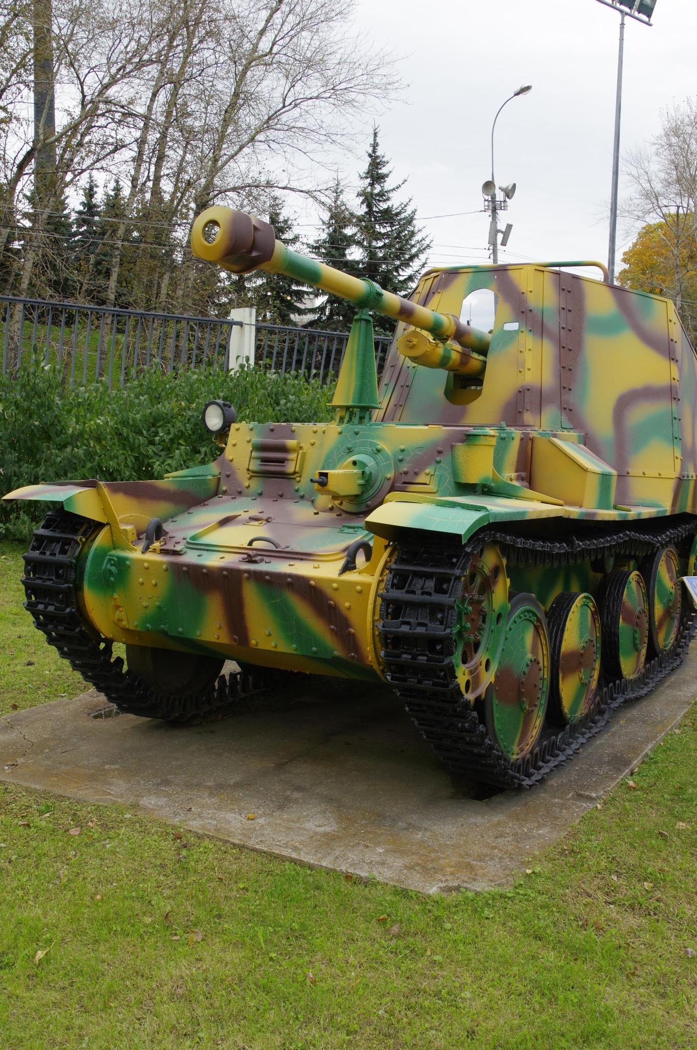 Самоходная артиллерийская установка «Marder» III Ausf.М