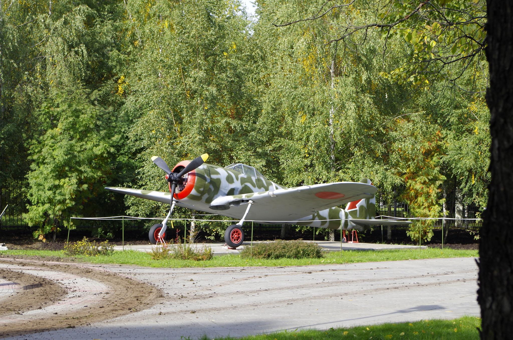 Истребитель Ки-43 «Хаябуса» в экспозиции Центрального музея Великой Отечественной войны 1941-1945 гг.