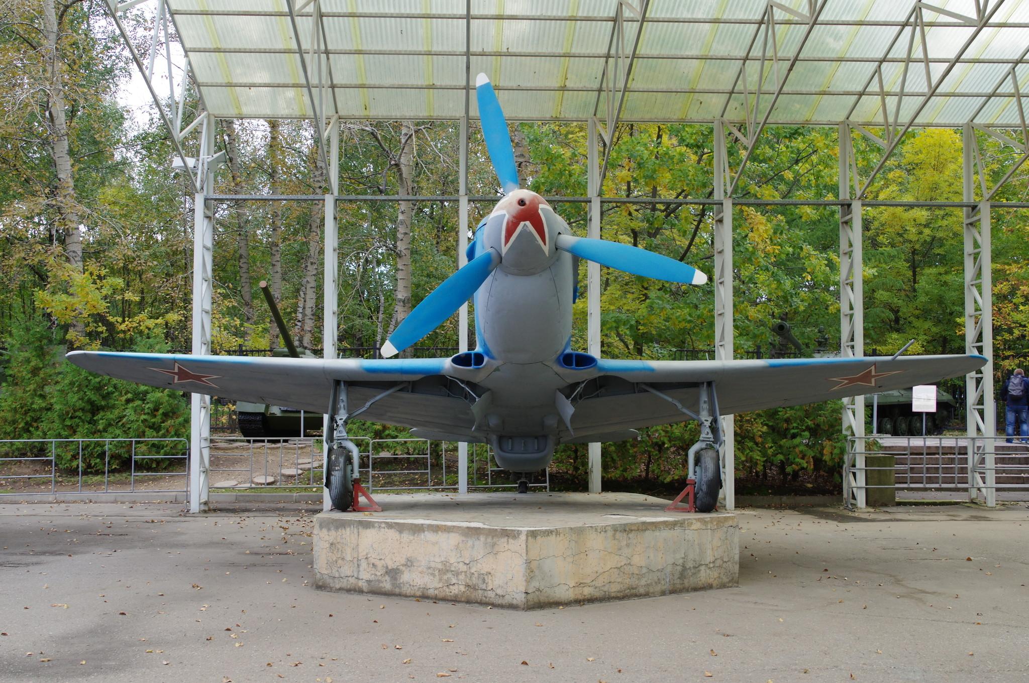 Истребитель Як-3 в Центральном музее Великой Отечественной войны 1941-1945 гг.