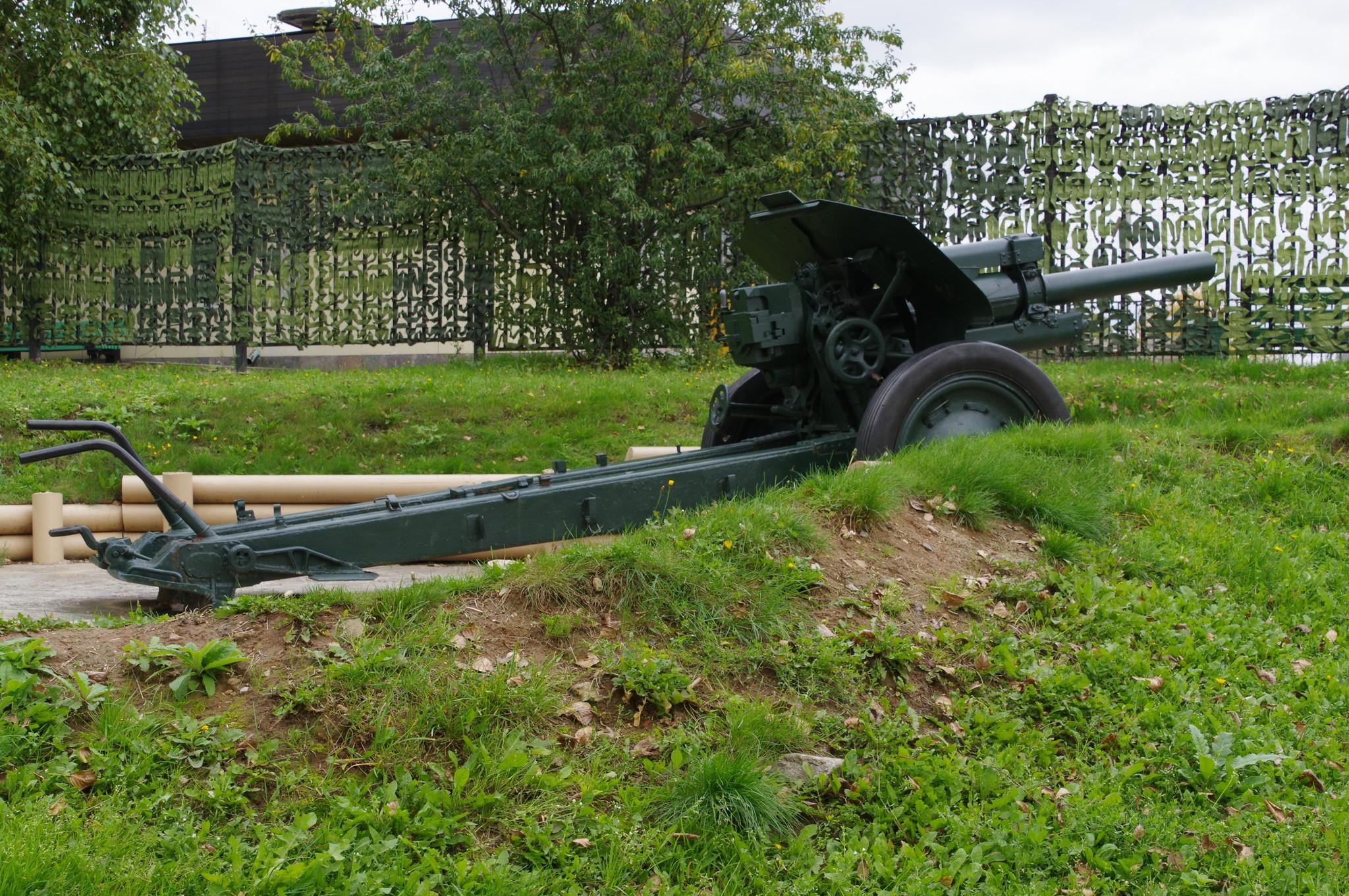 122-мм гаубица образца 1938 года (М-30). Центральный музей Великой Отечественной войны 1941-1945 гг.