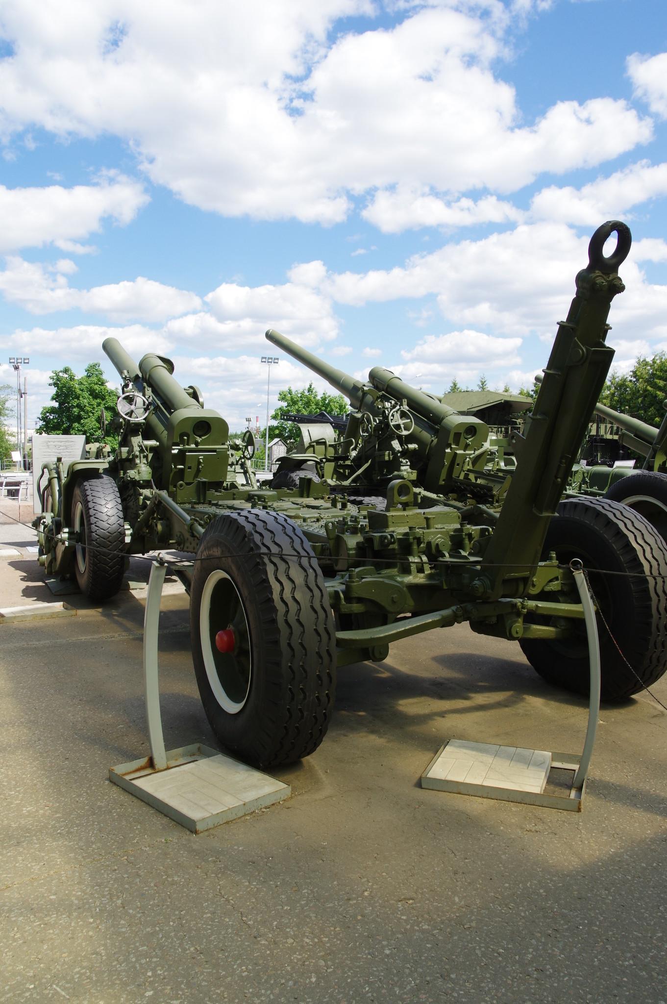 203-мм гаубица большой мощности Б-4М образца 1931 года