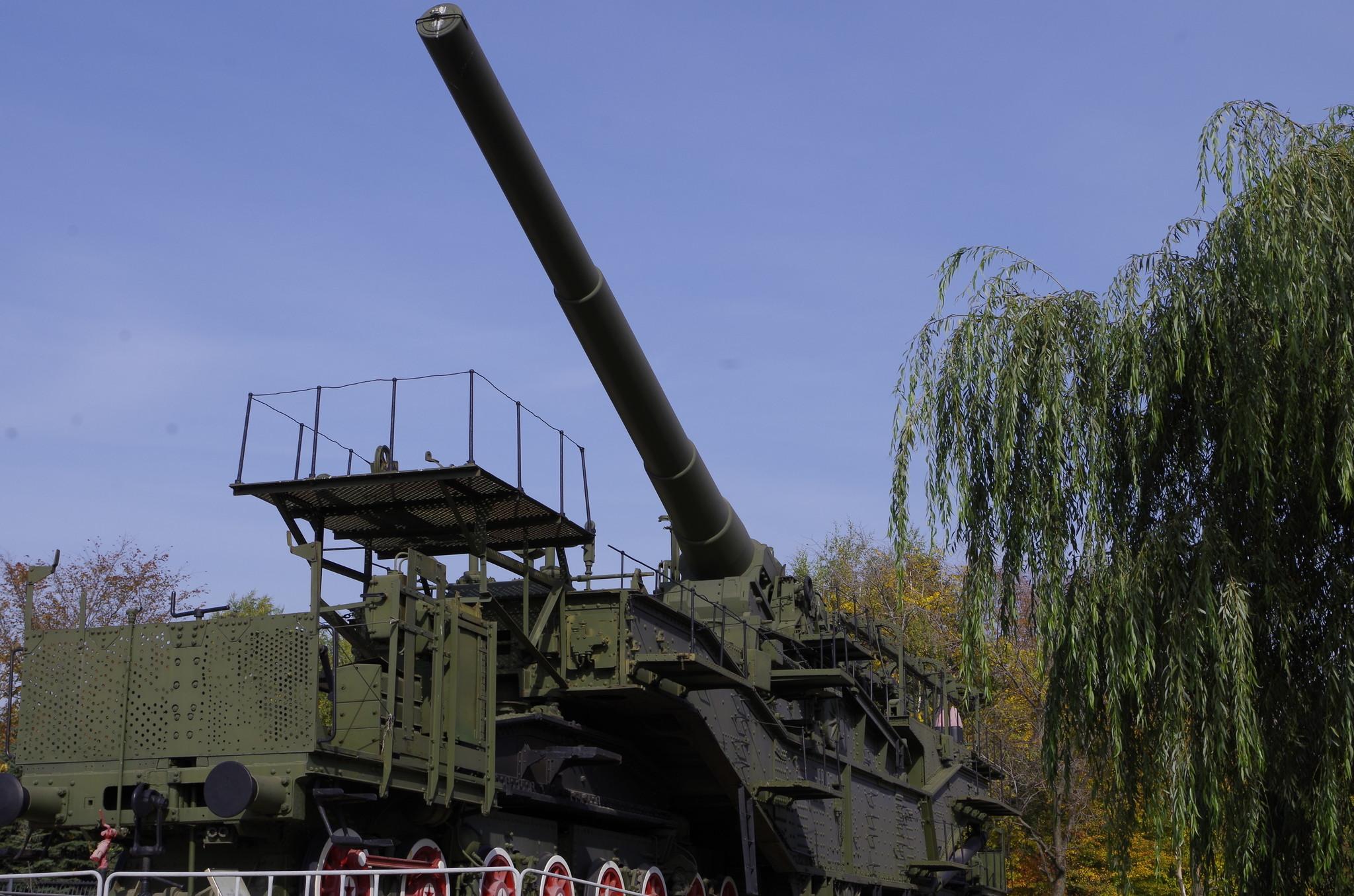 Сверхтяжёлая железнодорожная артиллерийская система TM-III-12 (Музей Победы)