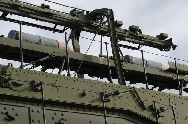 Сверхтяжёлая железнодорожная артиллерийская система TM-III-12. Центральный музей Великой Отечественной войны 1941-1945 гг.