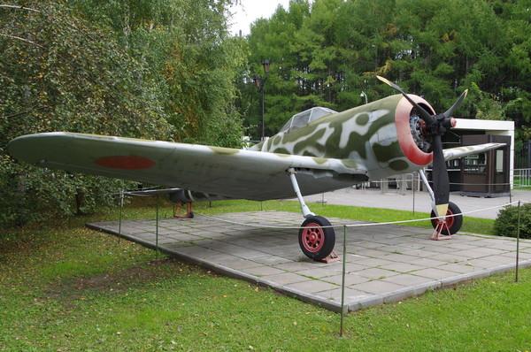 Истребитель Ки-43 «Хаябуса» (Центральный музей Великой Отечественной войны 1941-1945 гг.)