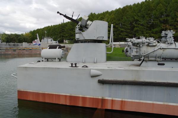 Торпедный катер проекта 123-бис типа «Комсомолец» в Центральном музее Великой Отечественной войны 1941-1945 гг.