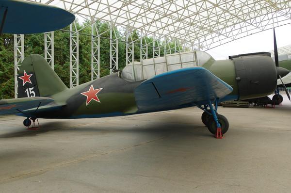 Копия самолёта Су-2 в экспозиции Центрального музея Великой Отечественной войны 1941-1945 гг.
