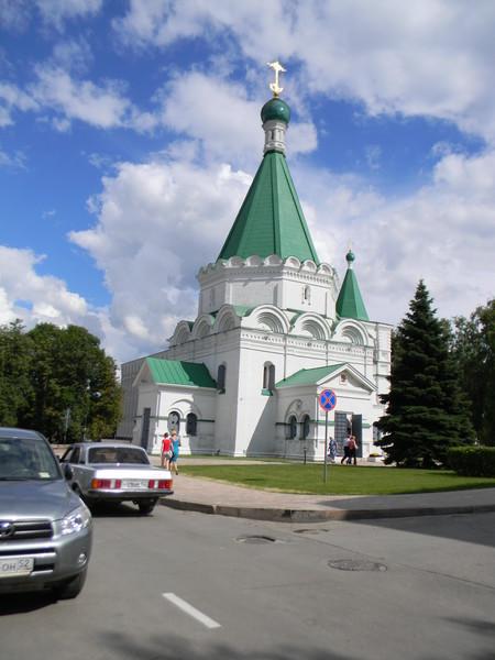 Михайло-Архангельский собор на территории Нижегородского кремля
