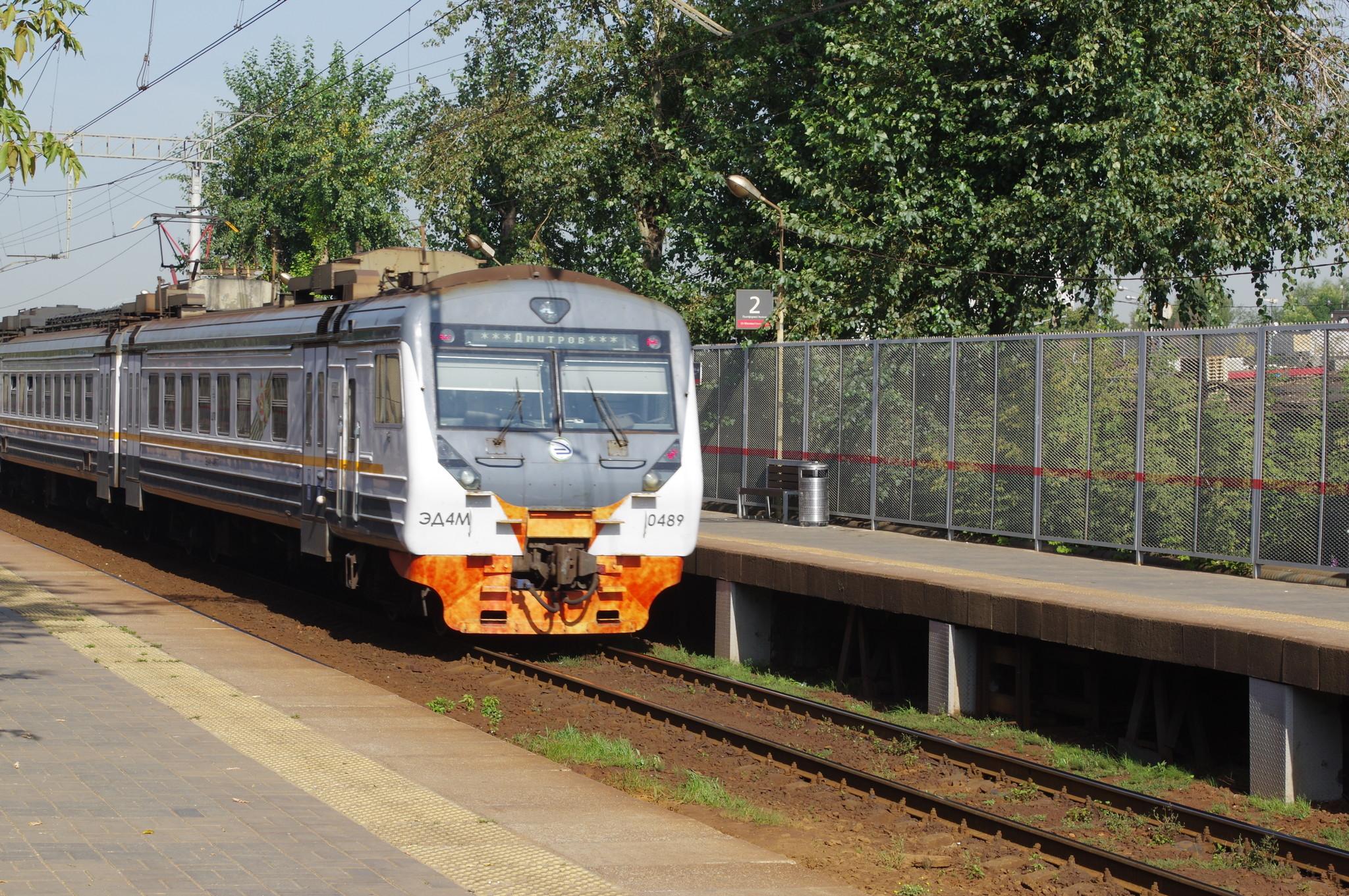 Платформа «Лианозово» Савёловского направления Московской железной дороги