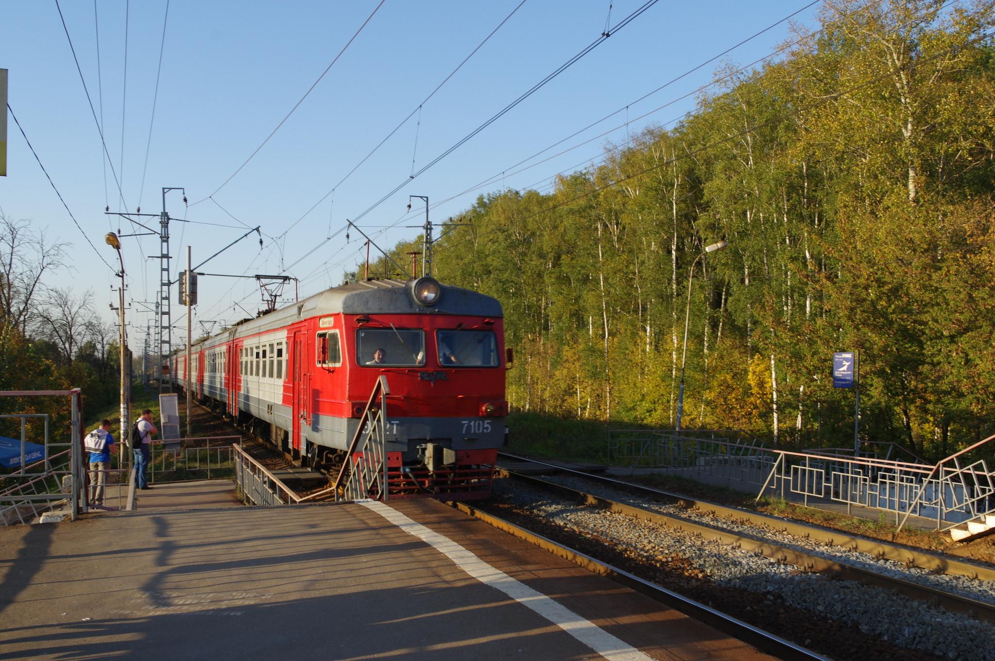 Платформа «Долгопрудная» Савёловского направления Московской железной дороги
