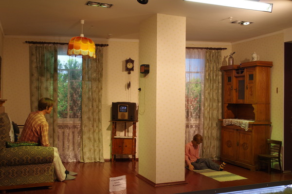 В музее Московской железной дороги (улица Кожевническая, дом 2)