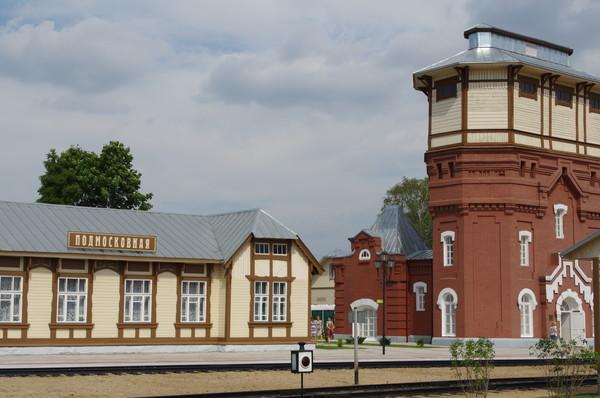 Историческая площадка «Паровозного депо Подмосковная»