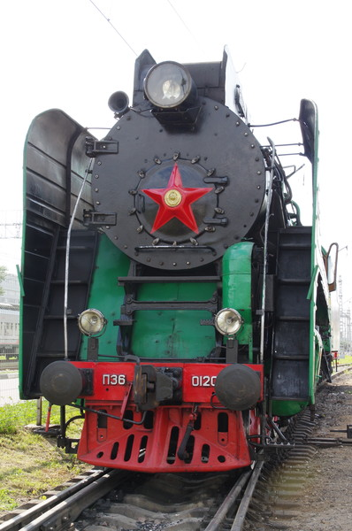 Магистральный пассажирский паровоз П36-0120