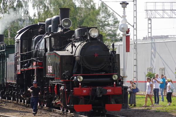 Паровоз 9П-19499